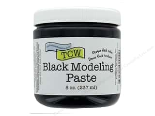 scrapbooking & paper crafts: The Crafters Workshop Modeling Paste 8 oz Black