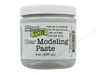 scrapbooking & paper crafts: The Crafters Workshop Modeling Paste 8 oz Clear