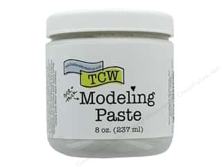 scrapbooking & paper crafts: The Crafters Workshop Modeling Paste 8 oz Nice & Thick White