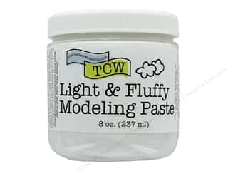 scrapbooking & paper crafts: The Crafters Workshop Modeling Paste 8 oz Light & Fluffy