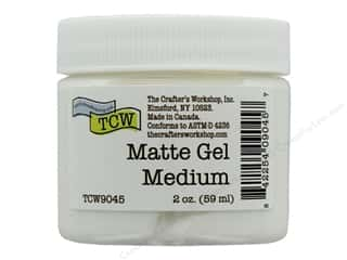 The Crafters Workshop Gel Medium 2 oz Matte