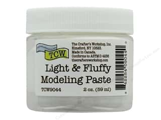 The Crafters Workshop Modeling Paste 2 oz Light & Fluffy