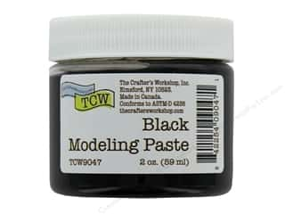 The Crafters Workshop Modeling Paste 2 oz Black