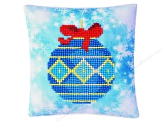 craft & hobbies: Diamond Dotz Mini Pillow Kit - Bauble Blue