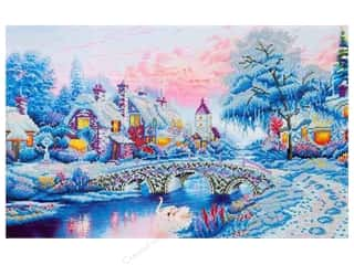 craft & hobbies: Diamond Dotz Advanced Kit - Winter Village