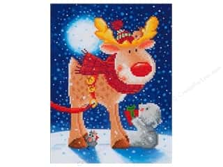 craft & hobbies: Diamond Dotz Intermediate Kit - Reindeer Gift