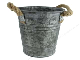 Sierra Pacific Crafts Galvanized Bucket Rope Handle 7 in.