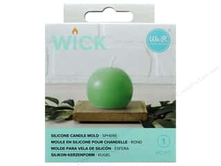 We R Memory Keepers Wick Silicone Candle Mold - Ball