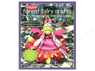 FunStitch Studio By C&T Magical Forest Fairy Crafts Book