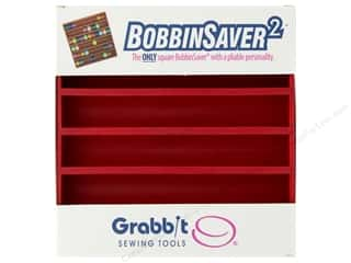 Blue Feather BobbinSaver Square Red