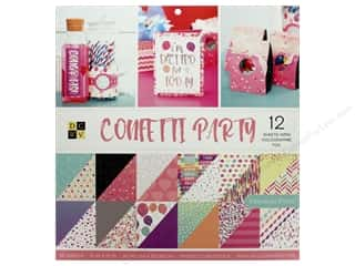 Die Cuts with a View 12 x 12 in. Paper Stack Confetti Party