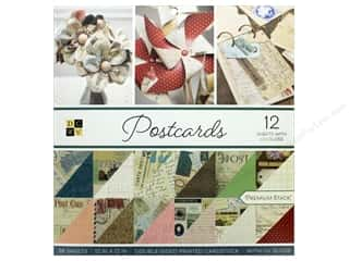 invited stamp: Die Cuts with a View 12 x 12 in. Paper Stack Postcards