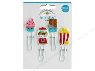 Doodlebug Collection So Much Pun Jelly Clips So Sweet