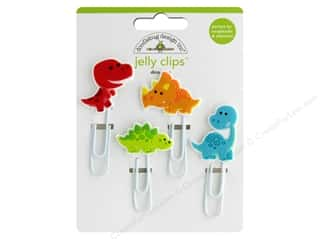 Doodlebug Collection So Much Pun Jelly Clips Dino-Mite