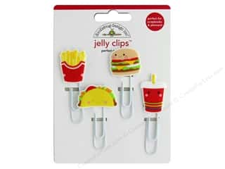 scrapbooking & paper crafts: Doodlebug Collection So Much Pun Jelly Clips Perfect Combo
