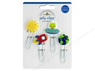 Doodlebug Collection So Much Pun Jelly Clips Out Of This World