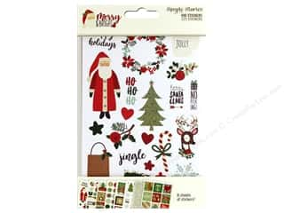 scrapbooking & paper crafts: Simple Stories Collection Merry & Bright Sticker 4 in. x 6 in.