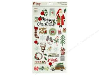 Simple Stories Collection Merry & Bright Chipboard 6 in. x 12 in.