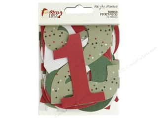 Simple Stories Collection Merry & Bright Number Pocket