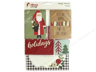 Clearance: Simple Stories Collection Merry & Bright Snap Card