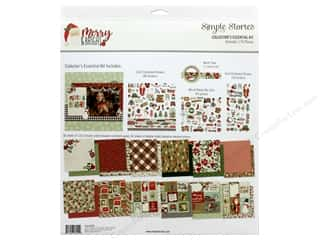 Simple Stories Collection Merry & Bright Collector's Essential Kit