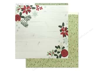 Simple Stories Collection Merry & Bright Paper 12 in. x 12 in. Holiday Memories (25 pieces)