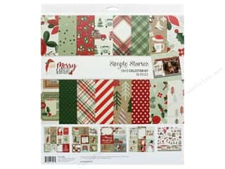 Simple Stories Collection Merry & Bright Collection Kit