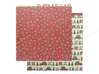 Clearance: Simple Stories Collection Merry & Bright Paper 12 in. x 12 in. It's A Wonderful Life (25 pieces)