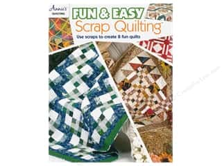 Clearance: Annie's Fun & Easy Scrap Quilting Book