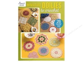 books & patterns: Annie's Miniature Doilies To Crochet Book