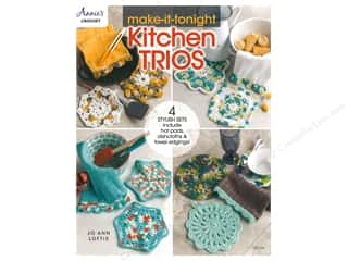 yarn: Annie's Make It Tonight Kitchen Trios Book