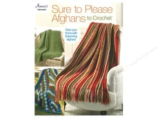 Annie's Sure To Please Afghans To Crochet Book
