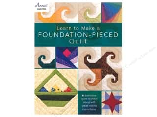 Annie's Learn To Make A Foundation Pieced Quilt Book