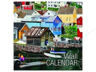 American Quilter's Society Wall Calendar 2019