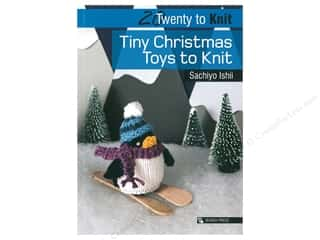 yarn: Search Press 20 To Knit Tiny Christmas Toys Book