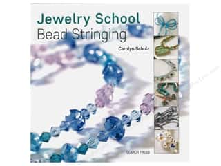 beading & jewelry making supplies: Search Press Jewelry School Bead Stringing Book