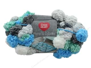 Coats & Clark Red Heart Pomp A Doodle Yarn 3.5 oz Beach House
