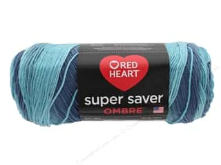 yarn: Coats & Clark Red Heart Super Saver Jumbo Yarn 10 oz Ombre Blue-tiful