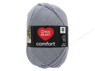 yarn: Red Heart Comfort Yarn 867 yd. #3150 Grey