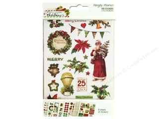 Simple Stories Collection Vintage Christmas Stickers 4 in. x 6 in.