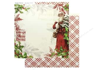 christmas paper: Simple Stories Collection Vintage Christmas Paper 12 in. x 12 in. Dear Santa (25 pieces)
