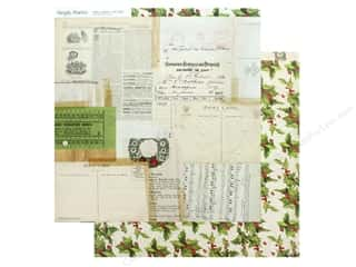 scrapbooking & paper crafts: Simple Stories Collection Vintage Christmas Paper 12 in. x 12 in. Tis The Season (25 pieces)