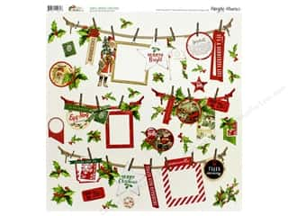 Simple Stories Collection Vintage Christmas Sticker 12 in. x 12 in. Banner (12 pieces)