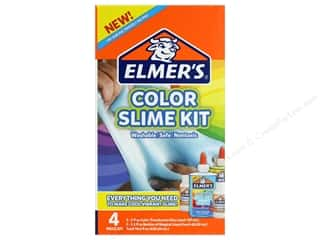 Elmer's Glues and Adhesives Slime Kit Translucent Blue & Green
