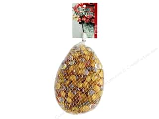 floral & garden: Panacea Decorative Accents Glass Assorted Golden Glaze 42 oz