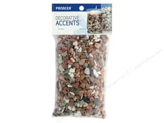 candle color: Panacea Decorative Accents River Rock Bag 28 oz Urban Mix