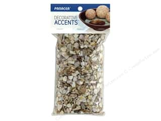 decorative floral: Panacea Decorative Accents Seashells Coarse Crushed 1.75 lb