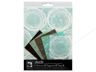Black Ink Decorative Papers Whimzy 15 pc