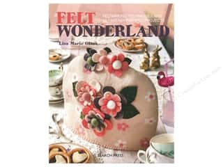 Search Press Felt Wonderland Book
