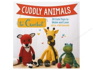 Search Press Cuddly Animals To Crochet Book